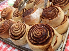 Baked Baking Food Goods Breakfast Cinnamon Rolls